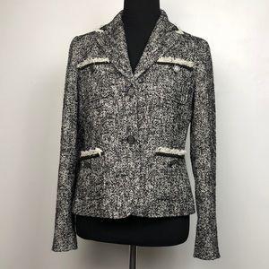Talbots Tweed Blazer size 8 EUC